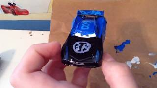 Making a Tyl3r PLAYz 600 custom! Painting a car time-lapse!