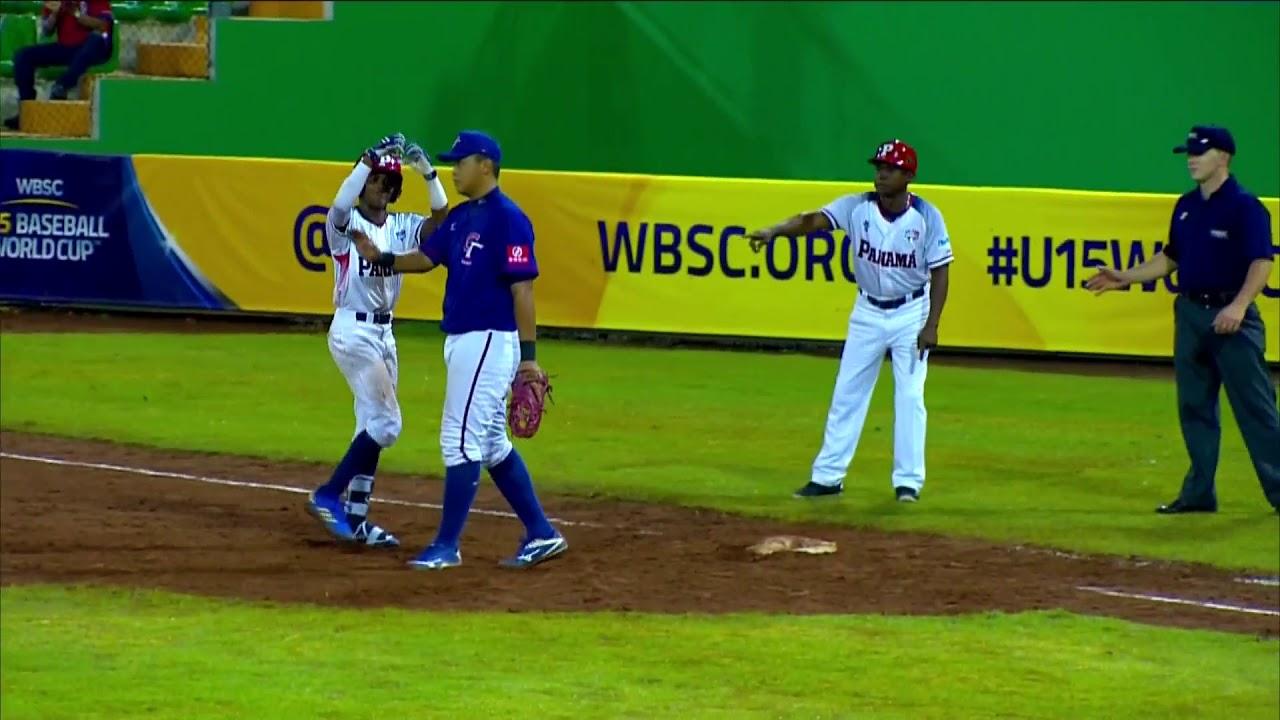 Highlights: Chinese Taipei v Panama - U-15 Baseball World Cup 2018