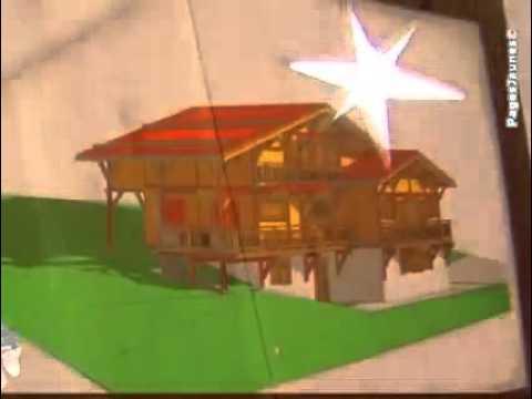 Constructeur de chalets maisons ossature bois garages for Constructeur de garage bois