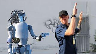 Boston Dynamics: New Robots Now Fight Back