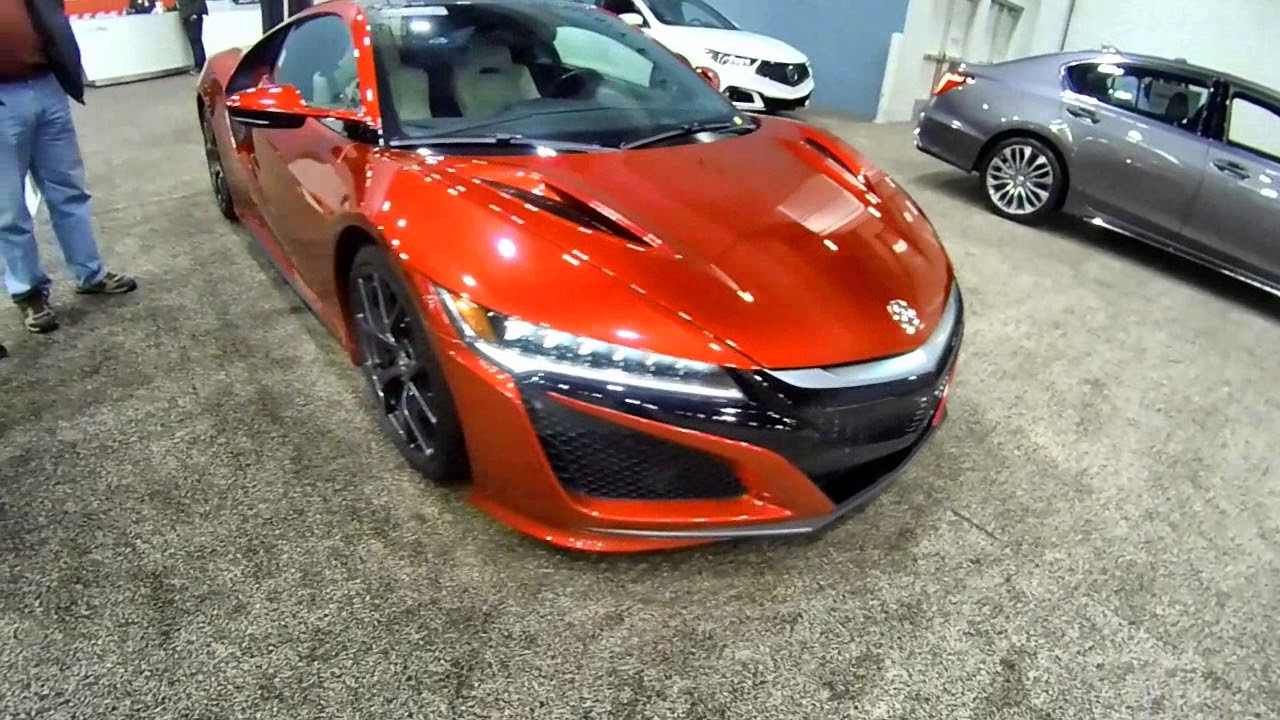 2018 Acura Nsx 0 60 In 3 1 Seconds 573hp 191mph Youtube