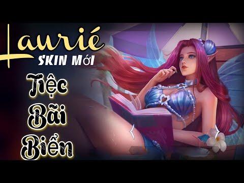 LIÊN QUÂN | Trải nghiệm Skin mới Lauriel Tiệc Bãi Biển trong SSM mùa 19 cùng FUNNY GAMING TV