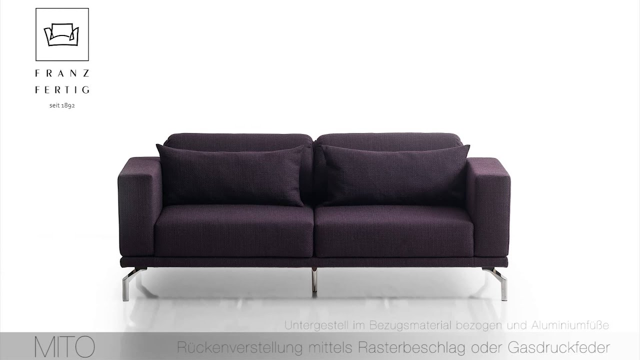 die collection franz fertig bettsofa mito bei m bel schaller youtube. Black Bedroom Furniture Sets. Home Design Ideas