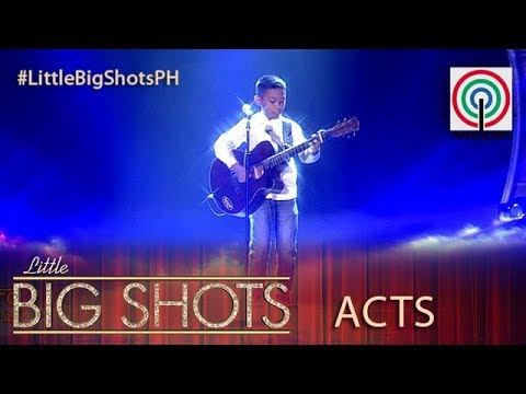 Little Big Shots Philippines: Rock | 10-year-old Acoustic Singer