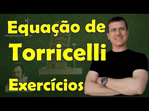EQUAÇÃO DE TORRICELLI - Cinemática - Aula 9 - EXERCÍCIO RESOLVIDO - Prof. Marcelo Boaro