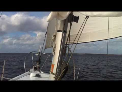 Sailing with friends on Pamlico River near Bath NC