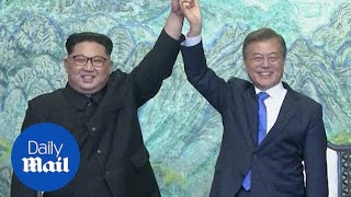 North and South Kore sign peace to end the Korean War - Daily Mail