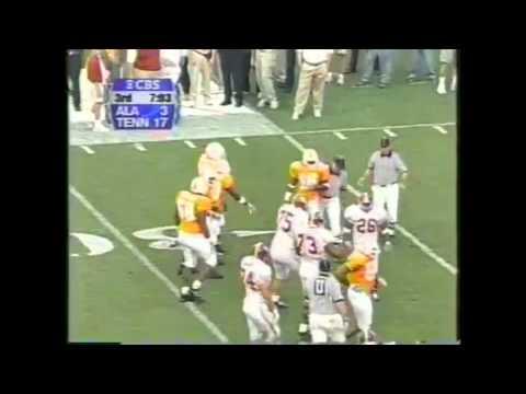 2000 Alabama vs. Tennessee Highlights