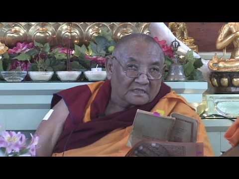 02 Nagarjuna's Precious Garland with Khensur Jampa Tegchok: Understanding Emptiness 04-17-08