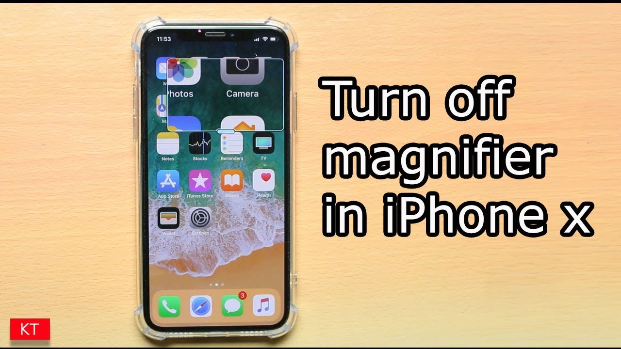 online store 29fe3 2b78b How to turn off magnifier on iPhone x
