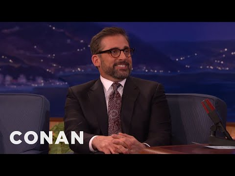"Steve Carell: Universal Pulled The Plug On ""The 40-Year-Old Virgin""  - CONAN on TBS"