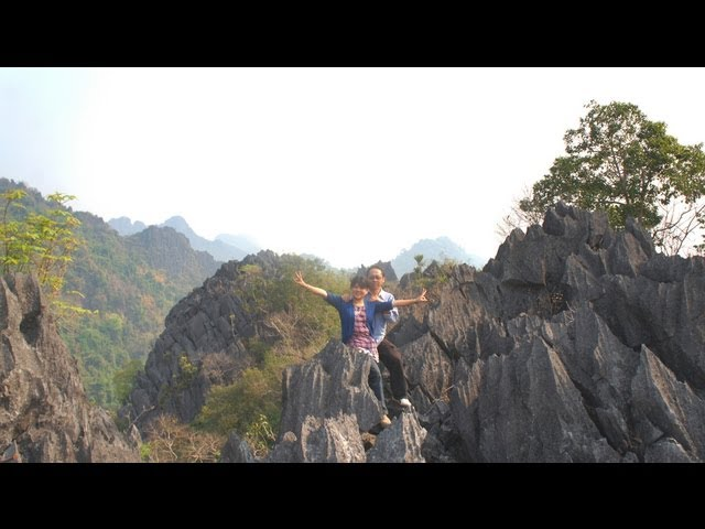 Travel - P22, 2012-13 Ncig LosTsuas, Ua Si, Laos (HD) Travel Video