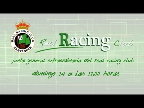Junta General Extraordinaria del Real Racing Club