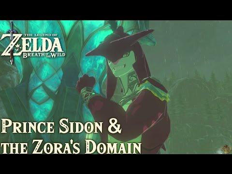 TLoZ: Breath of the Wild - Prince Sidon & the Zora
