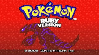 Pokemon Ruby version gameplay #1