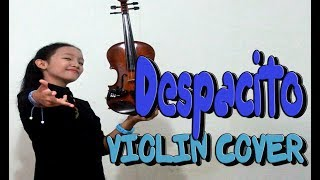 Despacito _ Justin Bieber Ft. Luis Fonsi, Daddy Yankee [ Violin Cover] Resimi