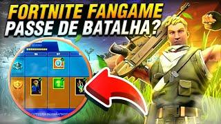 FORTNITE FANGAME ANDROID PASSE DE BATALHA GRÁTIS E 1GB RAM OU 1,5 🤔