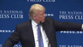 NPC Luncheon with Donald Trump