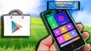 Сервисы Google Play на Nokia X2/X