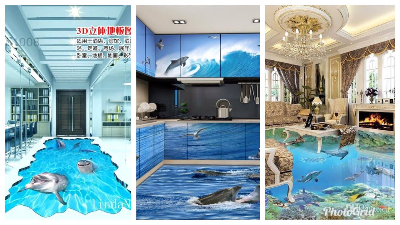 Incredible 3D tiles for your home// amazing tiles for your bedroom ...