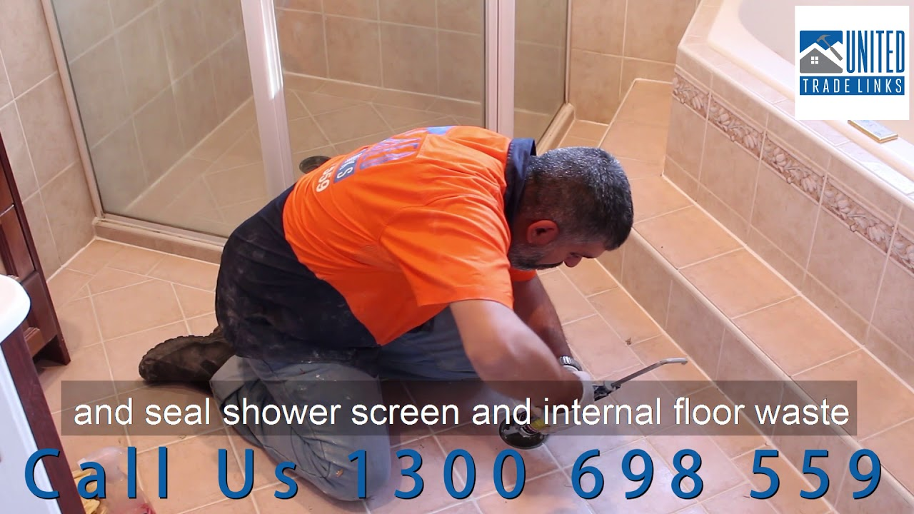 How To Repair Your Leaking Shower Without Removing Tiles Clear Waterproofing Membrane