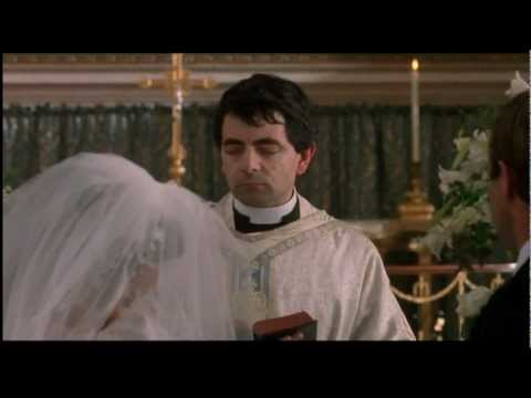 Mr. Bean - As a Nervous trainee Priest (HD)