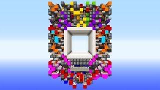 Die KRASSESTE 8x8 Redstone Piston Tür! Minecraft Redstone Piston Door!