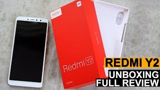 Redmi Y2 Full  Review And Unboxing - Best Selfie Smartphone 2018
