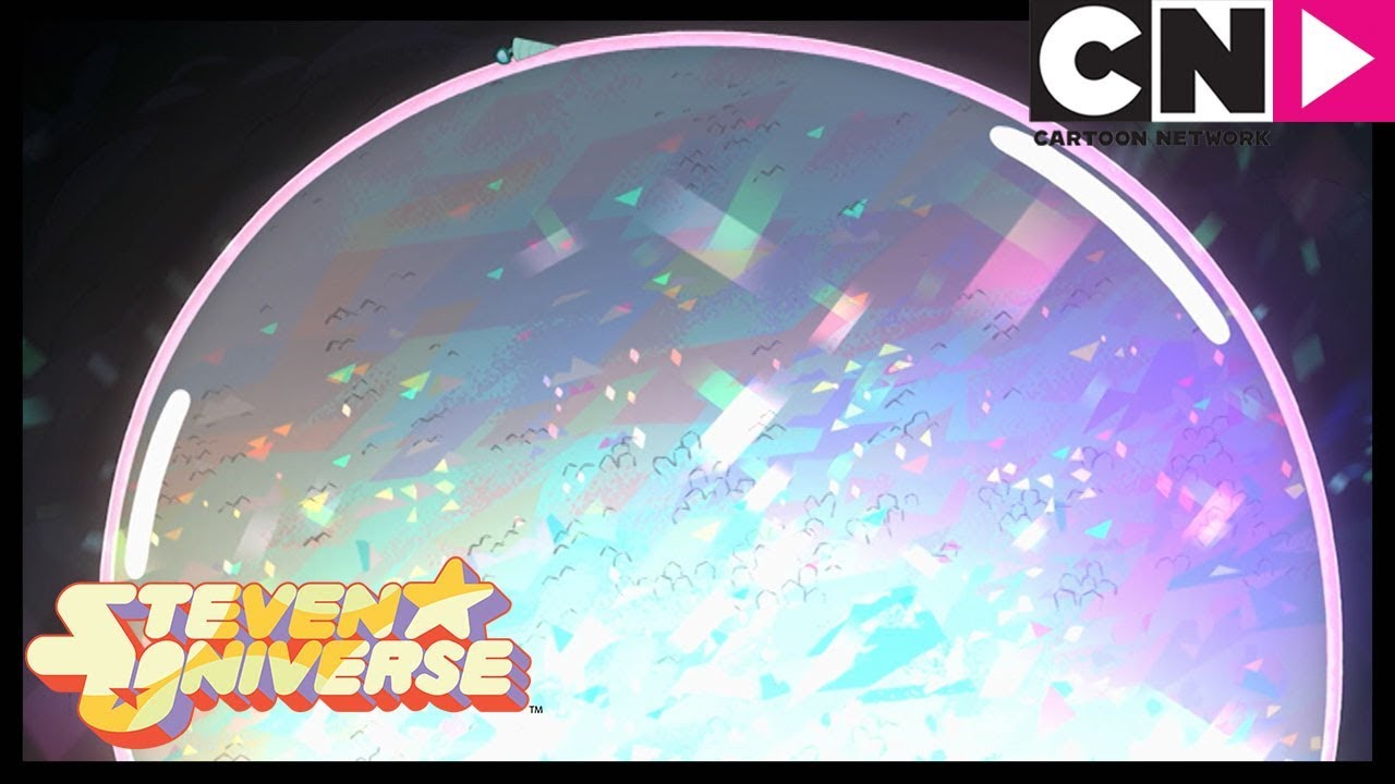 Steven Universe | Steven Bubbles The Cluster | Gem Drill | Cartoon Network - YouTube