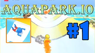 Aquapark.io Gameplay Walkthrough   Level 1 - 20