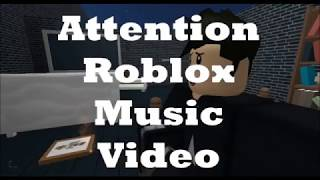 Attention-Roblox Music Video -Charlie Puth- Not finished Yet
