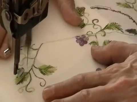 Treadle Machine Embroidery