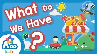 What Do We Have? (The Monṡter Song) | Kids Songs | BINGOBONGO Learning