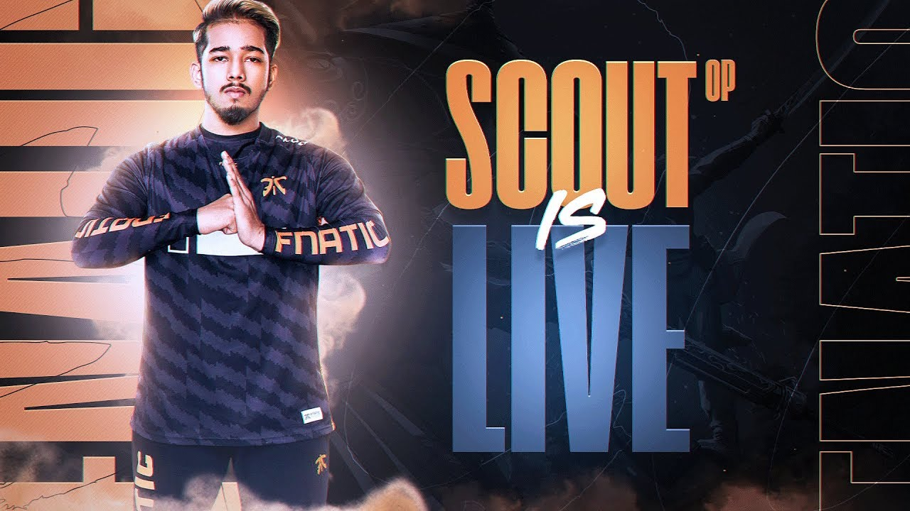 Live with sc0ut : Pubg Mobile    Scout + Mortal