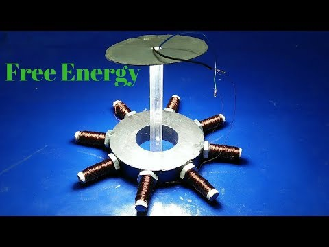how to make free energy from magnet and copper wire