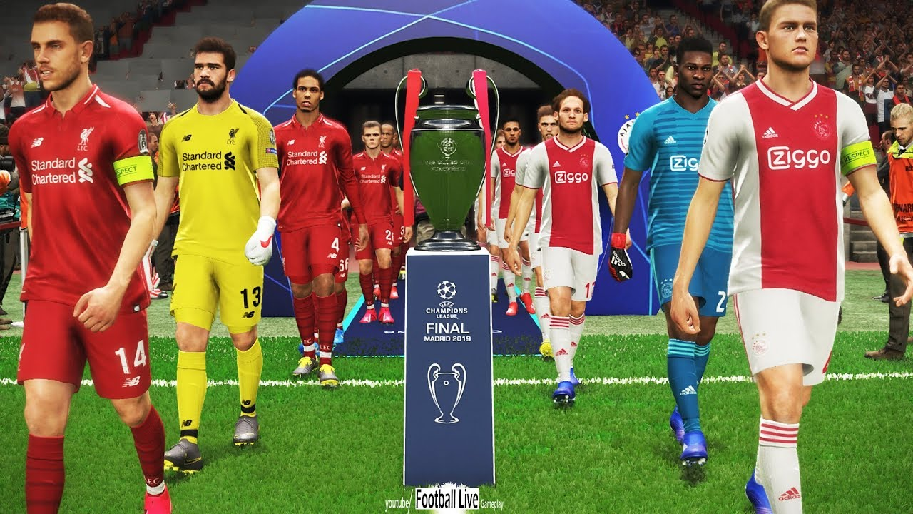 UEFA Champions League Final | Ajax vs Liverpool | Full ...