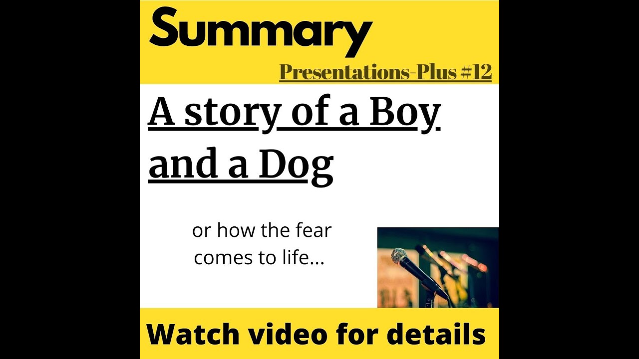 A Story of a Boy and a Dog