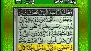 Surah Yaseen With Full Urdu Translation. Qari Abdul Basit - HD
