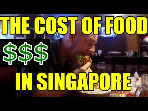 THE COST TO EAT IN SINGAPORE V301