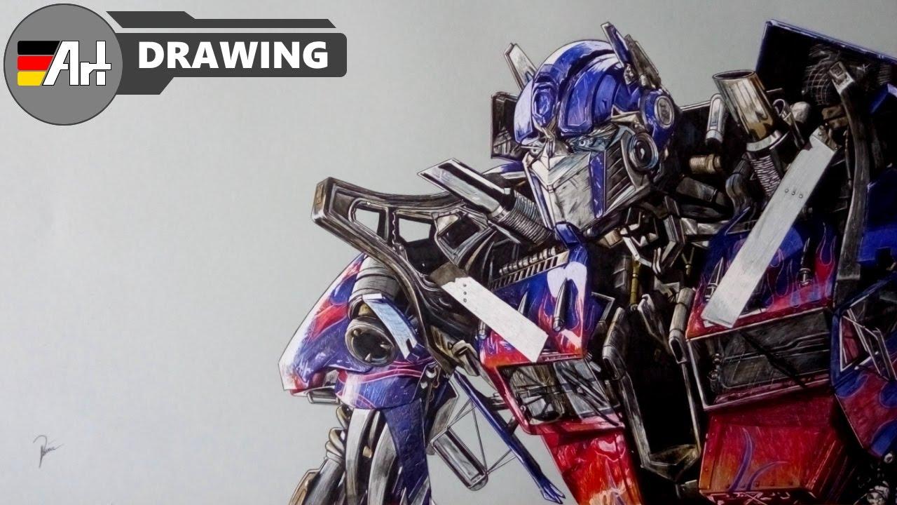 How I Draw Optimus Prime (Transformers)
