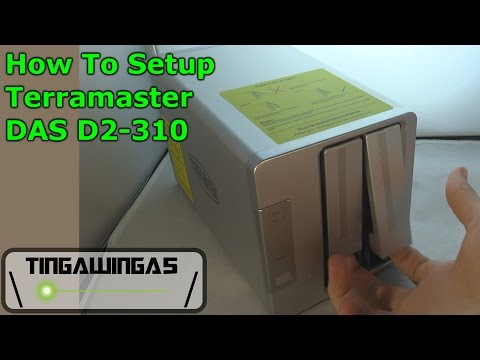 How To: Setup Direct Attached Storage - Terramaster D2-310