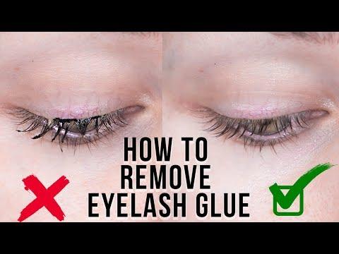 Beauty Hack: REMOVE EYELASH GLUE + HUGE GIVEAWAY!  | KristenLeanneStyle
