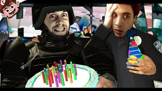 The Happy Birthday Experiment (Battlefield Hardline - Funny Moments)