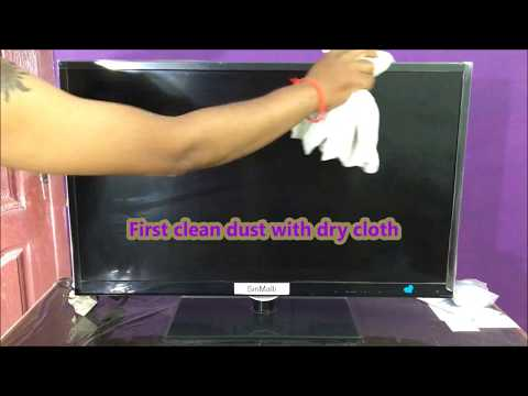 How to Clean TV (Television) at Home