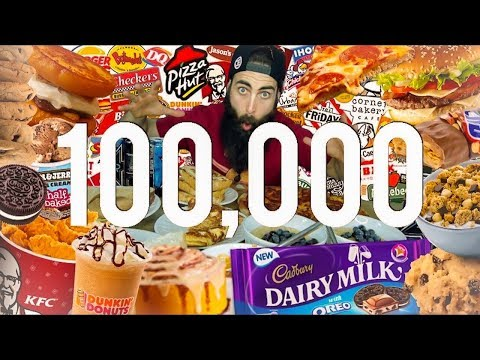 The 100,000 Calorie Challenge | BeardMeatsFood