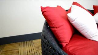 The Miami Daybed www.rattan.co.uk