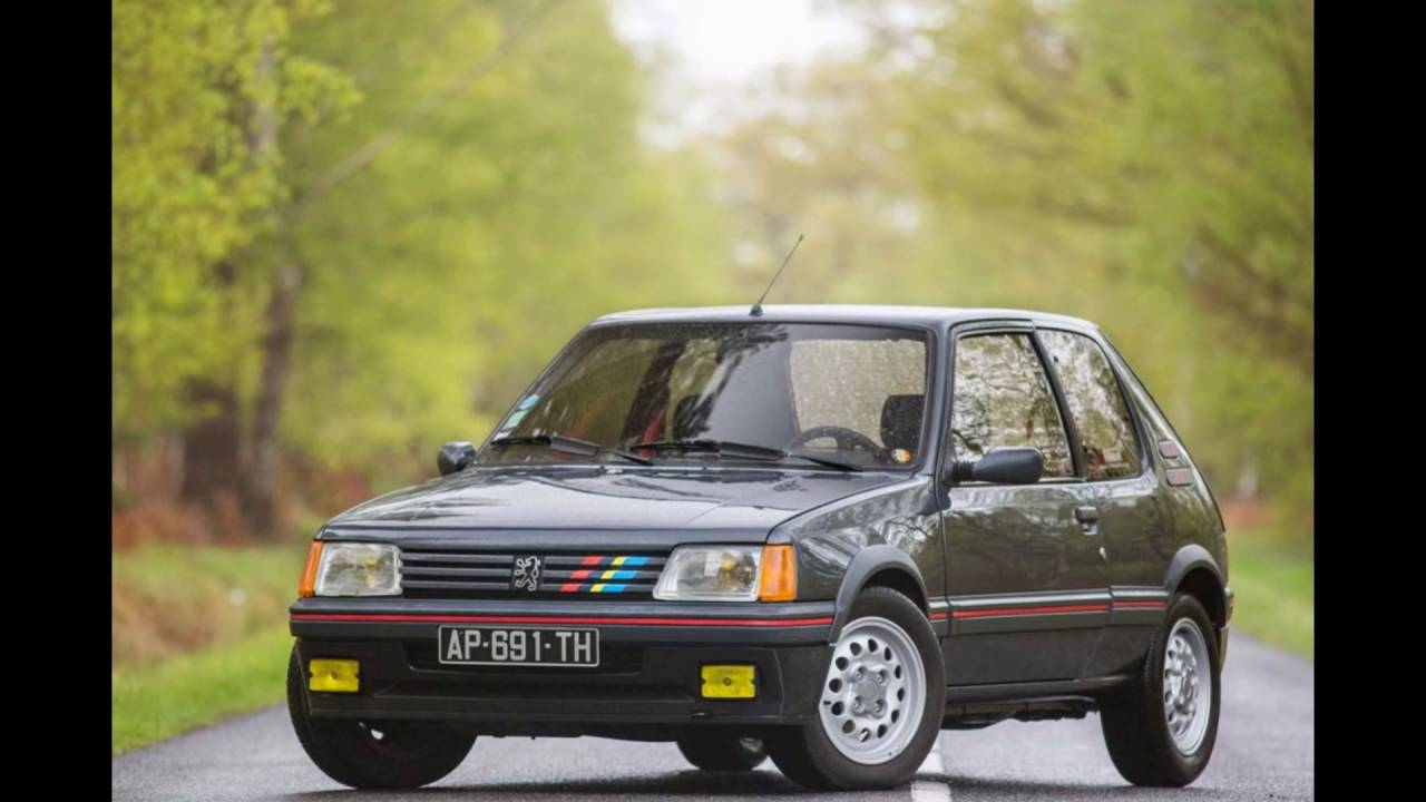 peugeot 205 gti 1 6 youtube. Black Bedroom Furniture Sets. Home Design Ideas