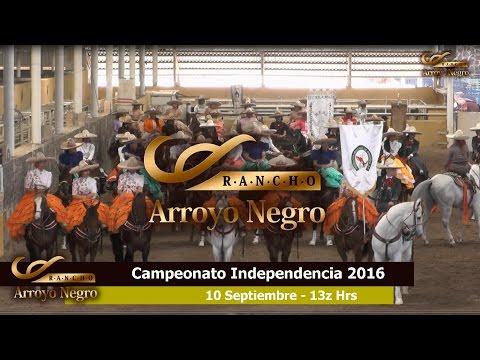 Feria de Escaramuzas Campeonato Charro Independencia 2016 - 10 Sep 13 Hrs.