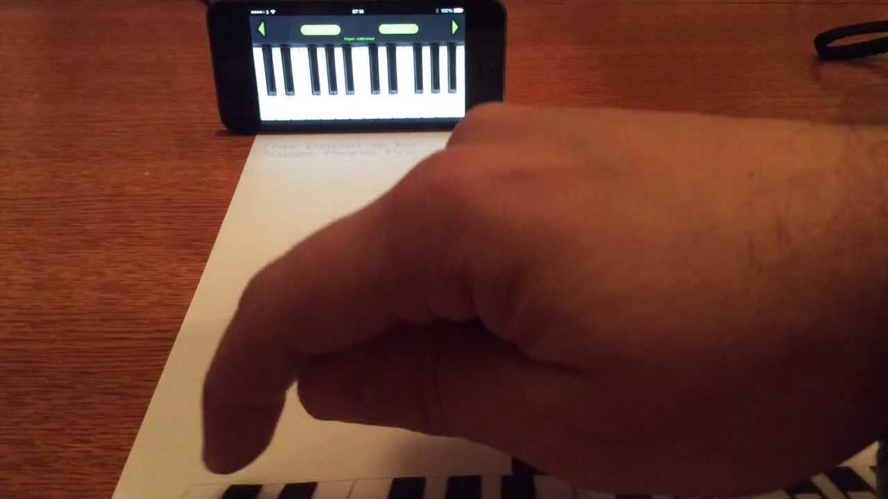 how to print play paper piano iphone app in 5 simple steps youtube