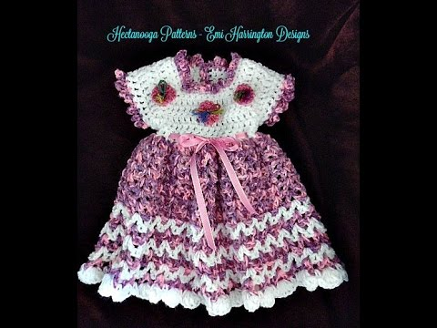 Crochet Patterns In Youtube : ... dress -MARCIE dress, and free crochet pattern (Video #1234) - YouTube